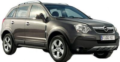 Présentation du SUV Opel Antara de 2007.