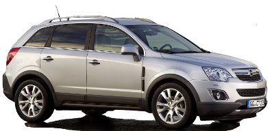 L'Opel Antara reçoit un léger restylage en 2011.